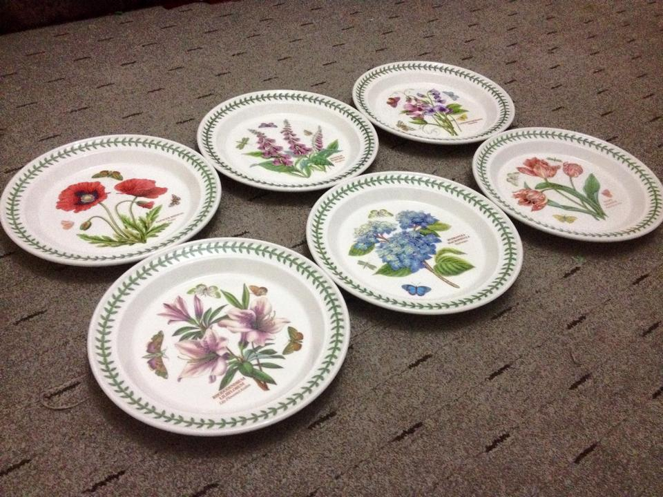 Portmeirion Botanic Garden Dinner Plate set & Portmeirion Botanic Garden Dinner Plate set | Barang Menarik UK